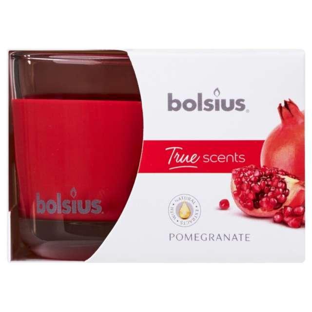 Świeca zapachowa w szkle T.S. Garanat Bolsius 63/90 mm