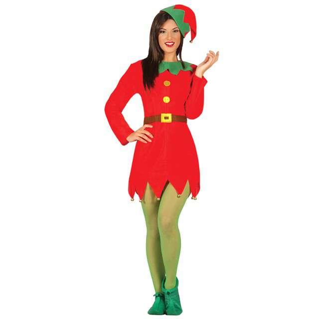 """Strój dla dorosłych """"Elf kobieta"""", GUIRCA, rozm. L"""