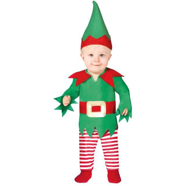 """Strój dla dzieci """"Mały Elf"""", Guirca, 6-12 miesięcy"""
