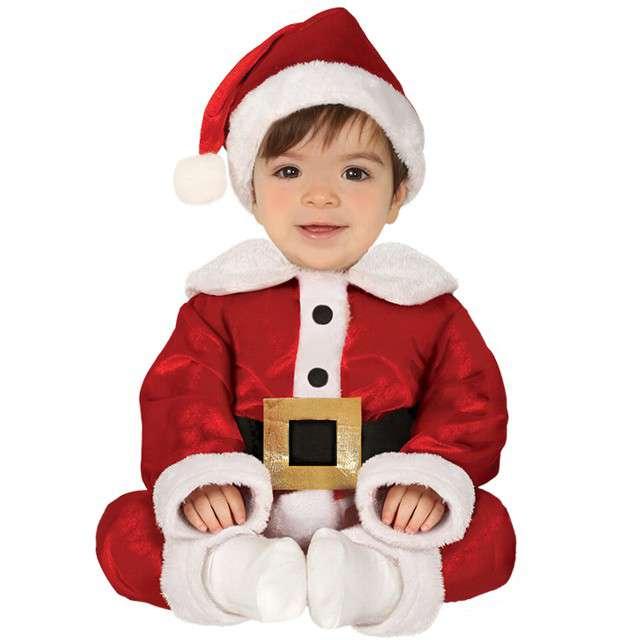 Strój dla dzieci Mikołajek z czapką GUIRCA 12-24 miesiące