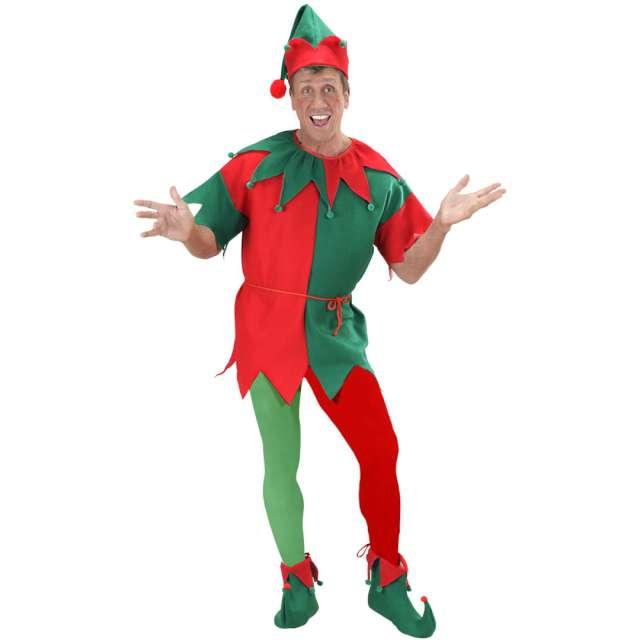 Rajstopy Elfa czerwono-zielone Widmann rozm. uniw.