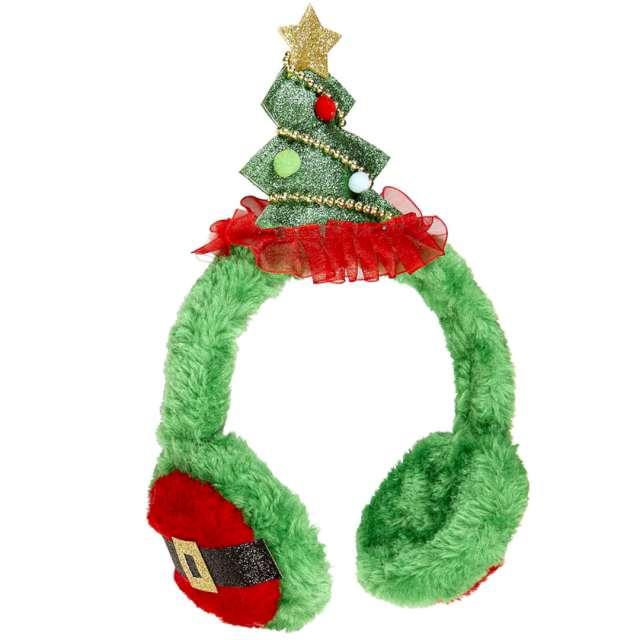 Nauszniki Świąteczna choinka zielona Widmann