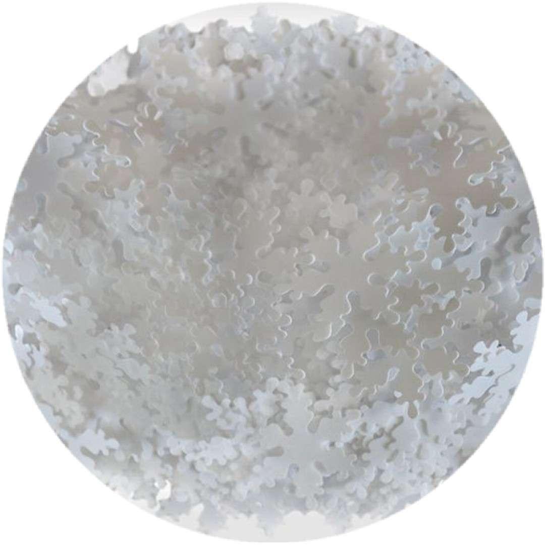 """Konfetti """"Płatki Śniegu"""", białe, Titanum, 14 g"""