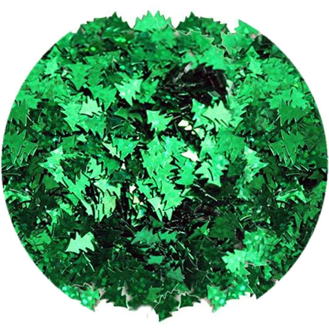 """Konfetti """"Choinki"""", zielone, Titanum, 14 g"""