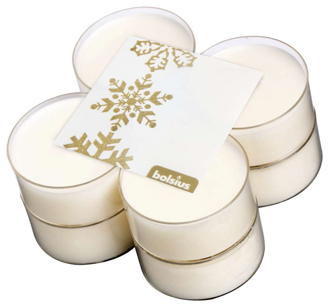 """Podgrzewacz zapachowy """"Merry Christmas - Wanilia"""", Bolsius, 8h, 8szt"""