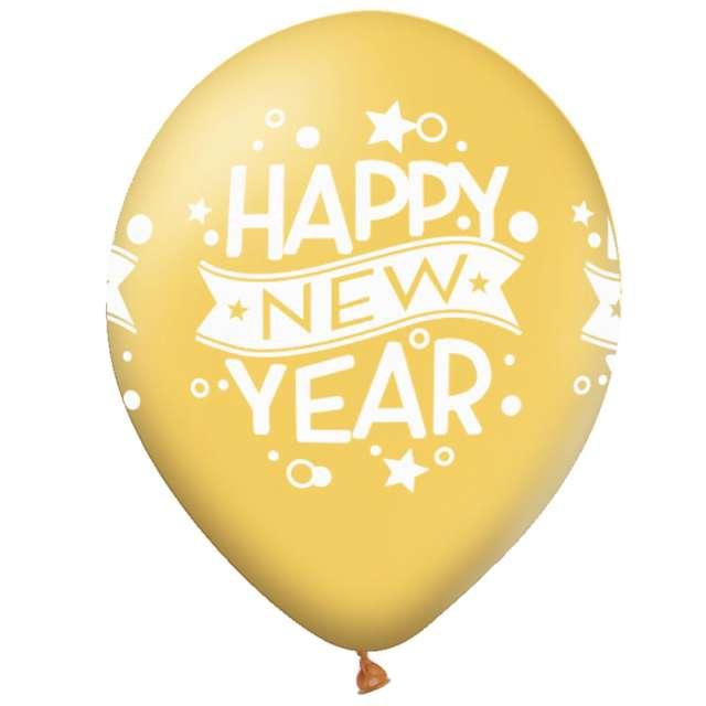 _xx_Balon Happy New Year 12cali 6szt