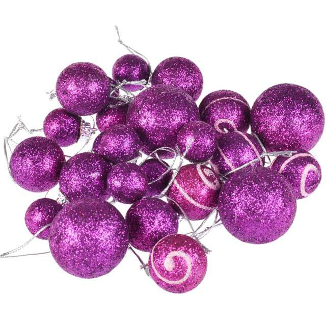 """Serwetki """"Srebrne ozdoby świąteczne"""", Maki, 33 cm, 20 szt"""