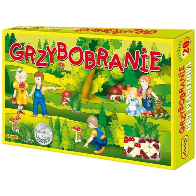 """Gra planszowa """"Grzybobranie"""", Adamigo, od 4 lat"""