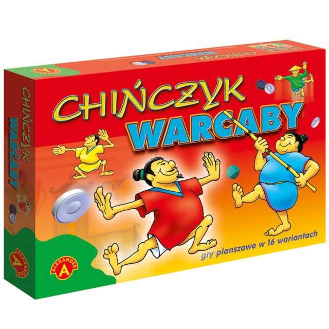 """Gra planszowa """"2w1 - Chińczyk i Warcaby"""", Alexander, 4-5 lat"""