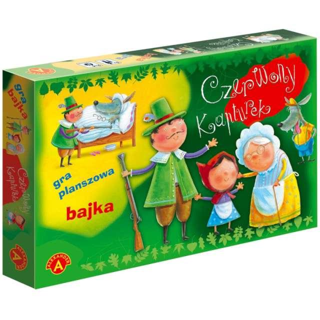 """Gra planszowa """"Czerwony Kapturek """", Alexander, od 5 lat"""