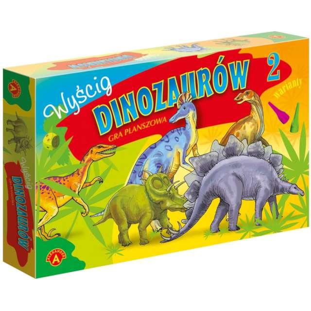 """Gra planszowa """"Wyścig Dinozaurów"""", Alexander, od 4 lat"""
