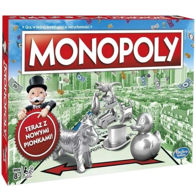 Gra planszowa Monopoly Hasbro od 8 lat
