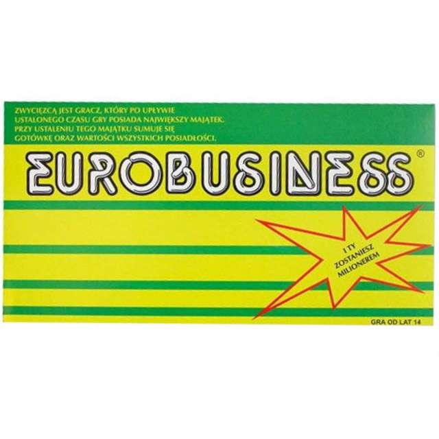 """Gra planszowa """"Eurobusiness"""", Labo, od 12 lat"""