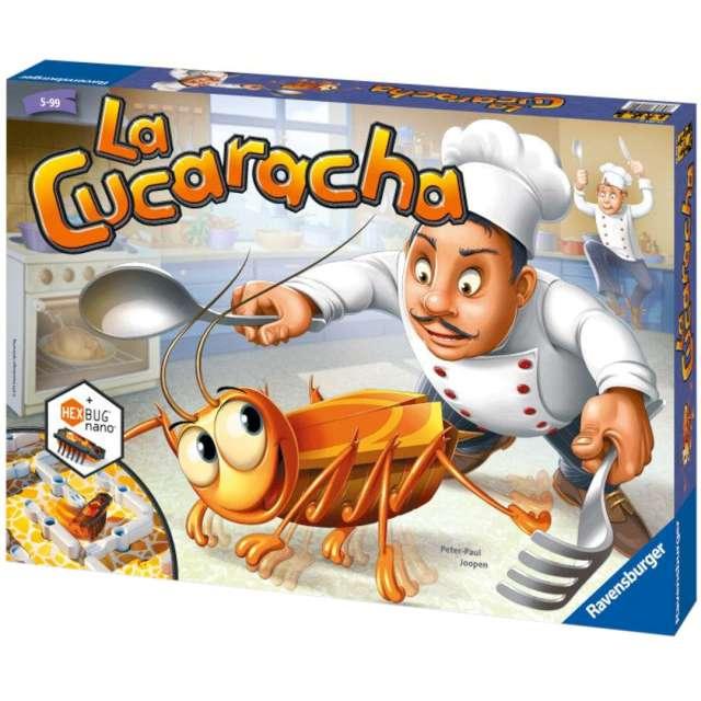 Gra zręcznościowa La Cucaracha Ravensburger od 3 lat