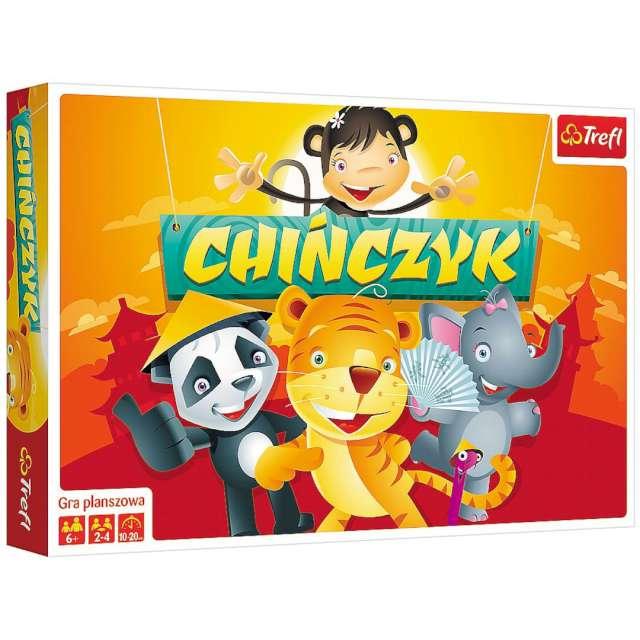 """Gra planszowa """"Chińczyk ilustrowany"""", Trefl, 4-5 lat"""
