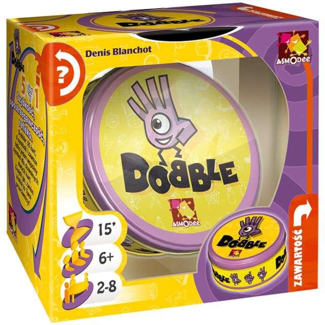 Gra logistyczna Dobble Rebel od 6 lat