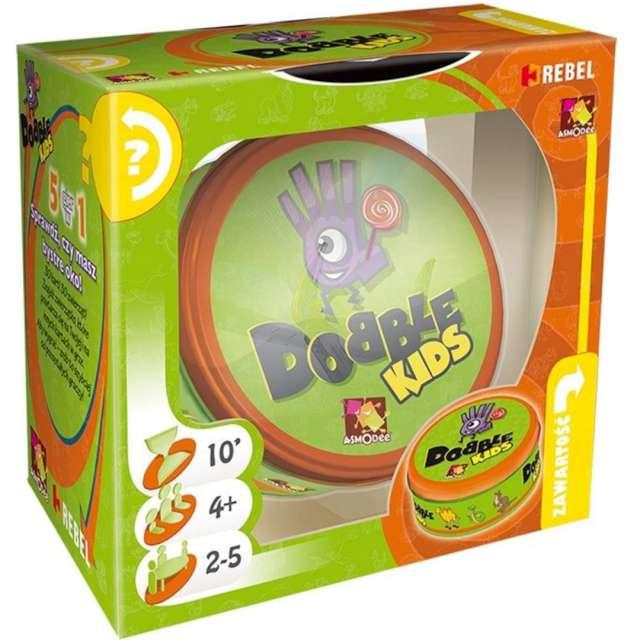 """Gra logiczna """"Dobble Kids"""", Rebel, od 4 lat"""