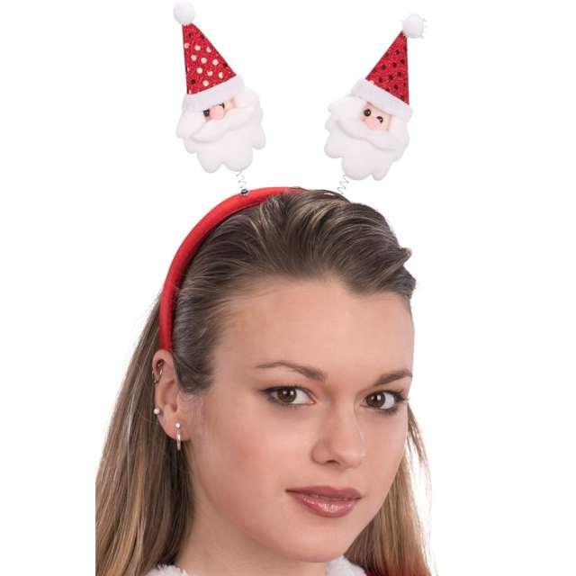 Opaska party Mikołaje na sprężynkach Carnival Toys