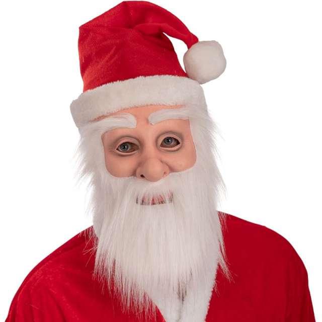 """Maska """"Święty Mikołaj"""", lateksowa, Carnival Toys"""