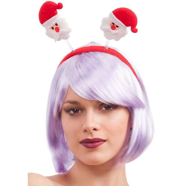 Opaska party Mikołaje w czapkach Carnival Toys