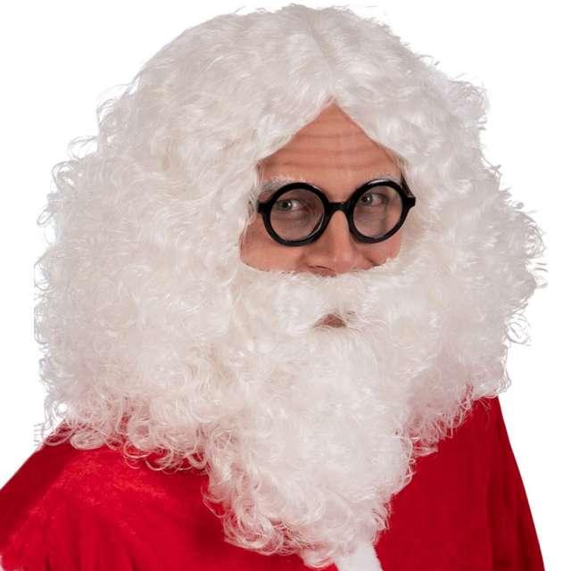 """Peruka party """"Święty Mikołaj z brodą"""", Carnival Toys"""