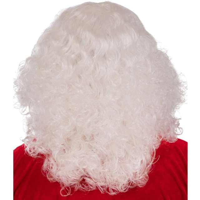 Peruka party Święty Mikołaj z brodą Carnival Toys