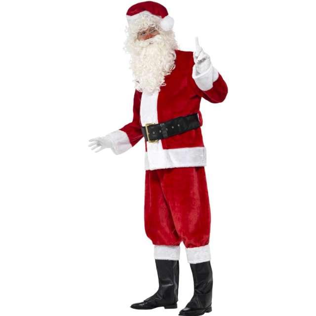 """Strój dla dorosłych """"Święty Mikołaj Deluxe"""", Smiffys, rozm. uniwersalny"""