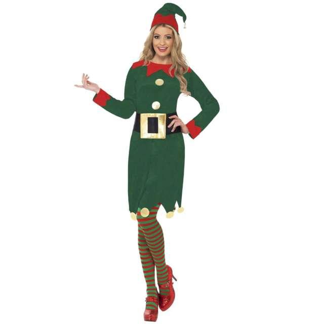 """Strój dla dorosłych """"Elfka"""", zielony, Smiffys, rozm. L"""