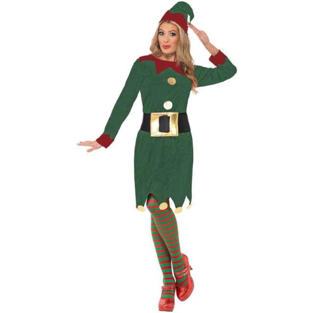 Strój dla dorosłych Elfka zielony Smiffys rozm. M