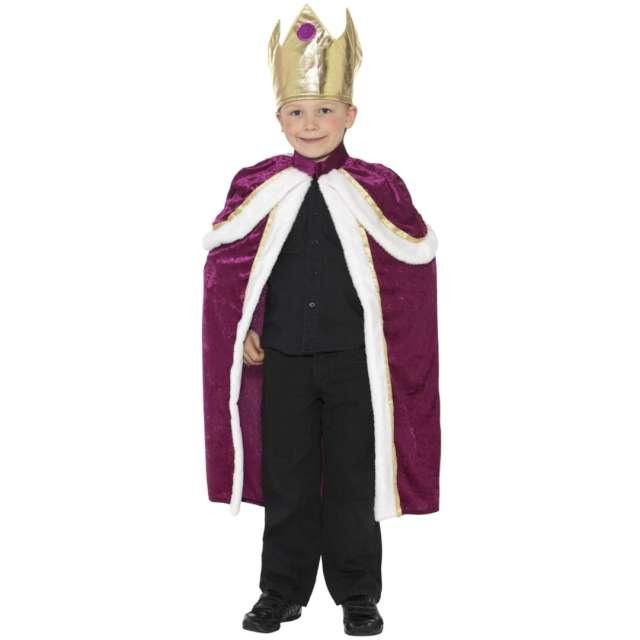 """Strój dla dzieci """"Król-Królowa"""", Smiffys, rozm. S"""