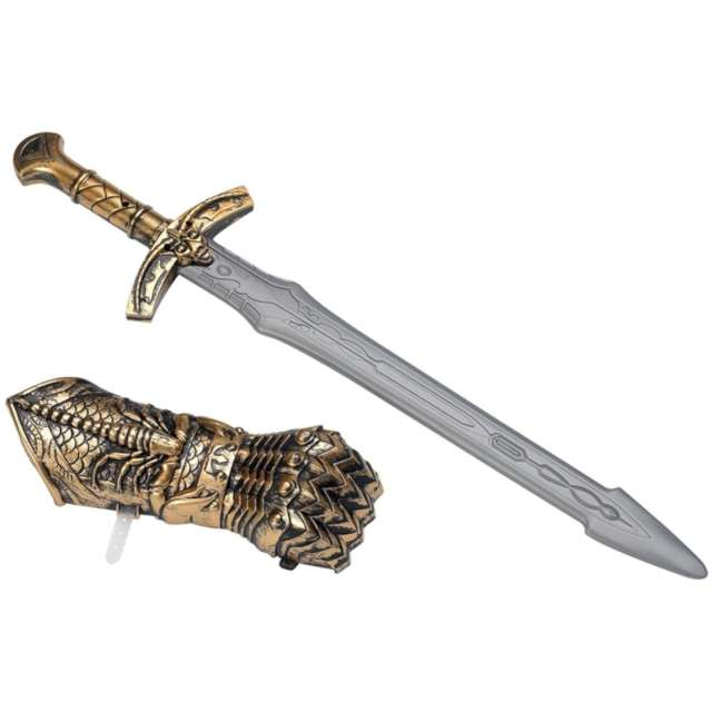Broń Miecz z ochraniaczem dłoni Smiffys