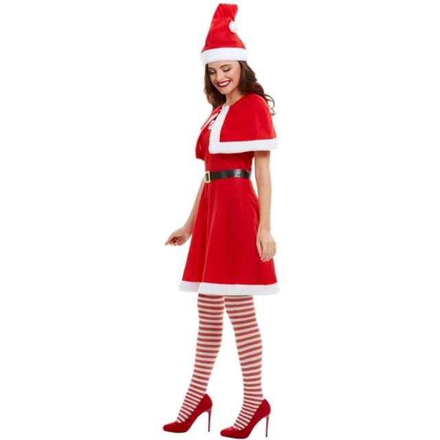 Strój dla dorosłych Pani Mikołajowa czerwony Smiffys rozm. S