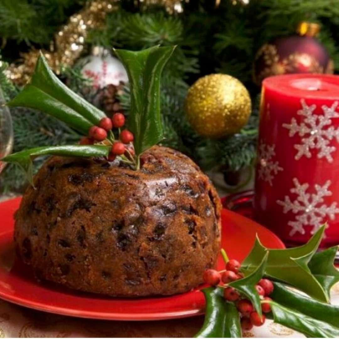 Czapka Świąteczny pudding brązowa Smiffys