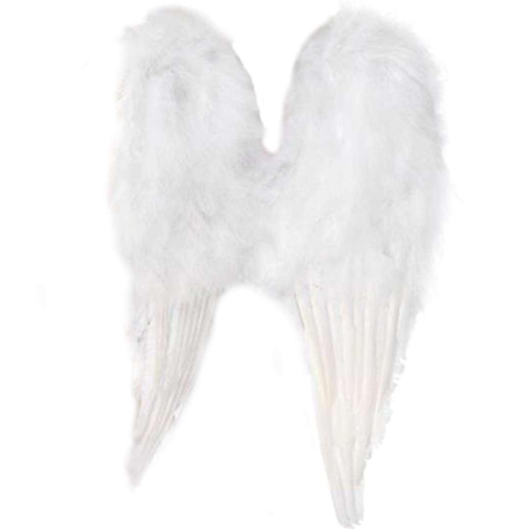 """Skrzydła """"Anioł Classic"""", białe, Smiffys, 50 x 60 cm"""
