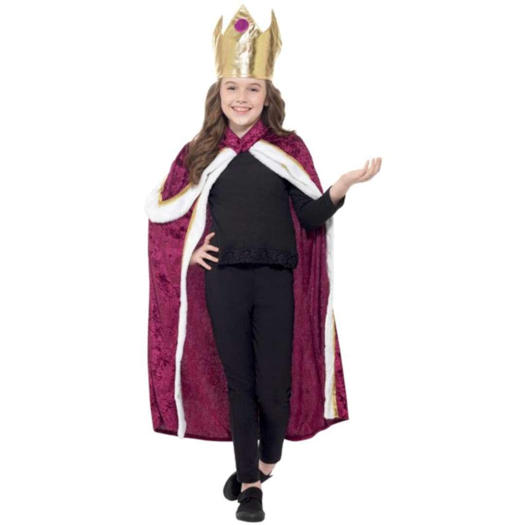 Strój dla dzieci Król-Królowa Smiffys rozm. S