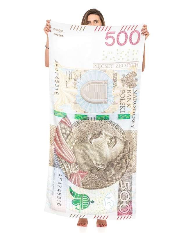 """Ręcznik """"500 Złotych"""", GadgetMaster"""