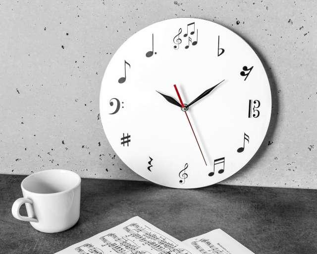 Zegar ścienny Dla muzyka GadgetMaster
