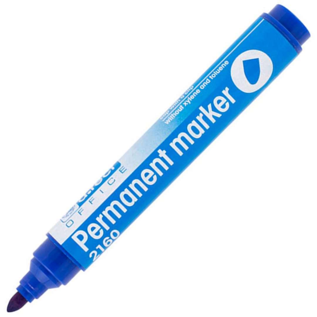 """Marker permanentny """"Okrągły 2160"""", niebieski, D.RECT, 1-3 mm"""