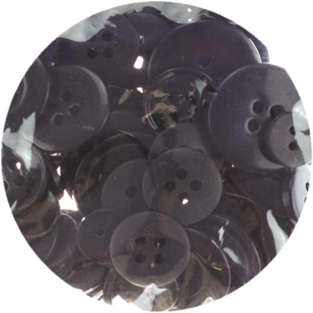 Guziki Kreatywne czarne Brewis 40g