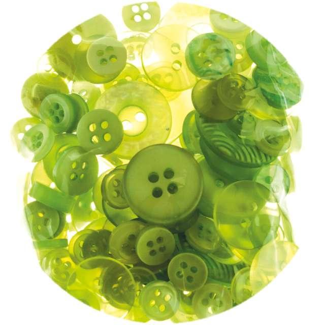 """Guziki """"Kreatywne"""", zielone, Brewis, 40g"""