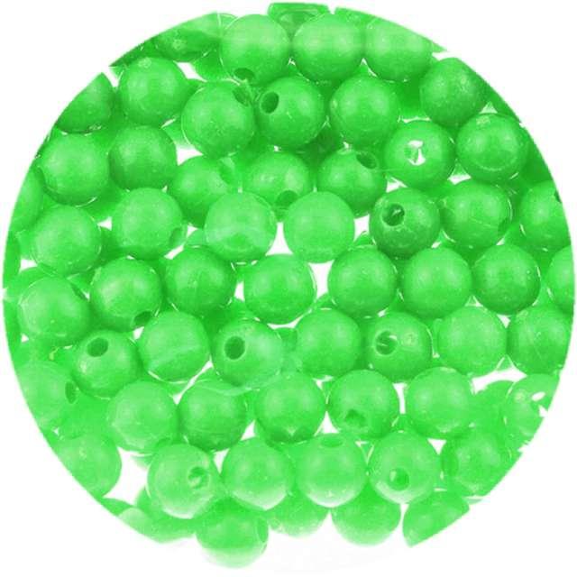 """Koraliki """"Classic"""", zielone, Brewis, 6 mm, 16 g"""