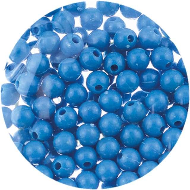 """Koraliki """"Classic"""", niebieskie, Brewis, 6 mm, 16 g"""