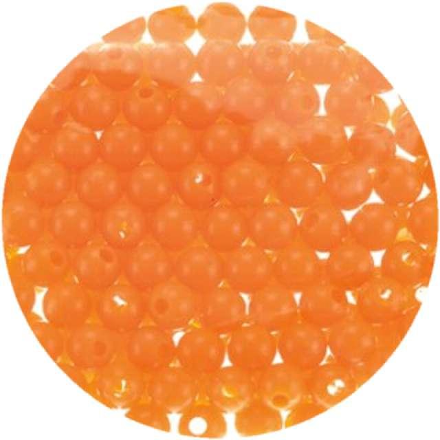 """Koraliki """"Classic"""", miodowo-złote, Brewis, 6 mm, 16 g"""
