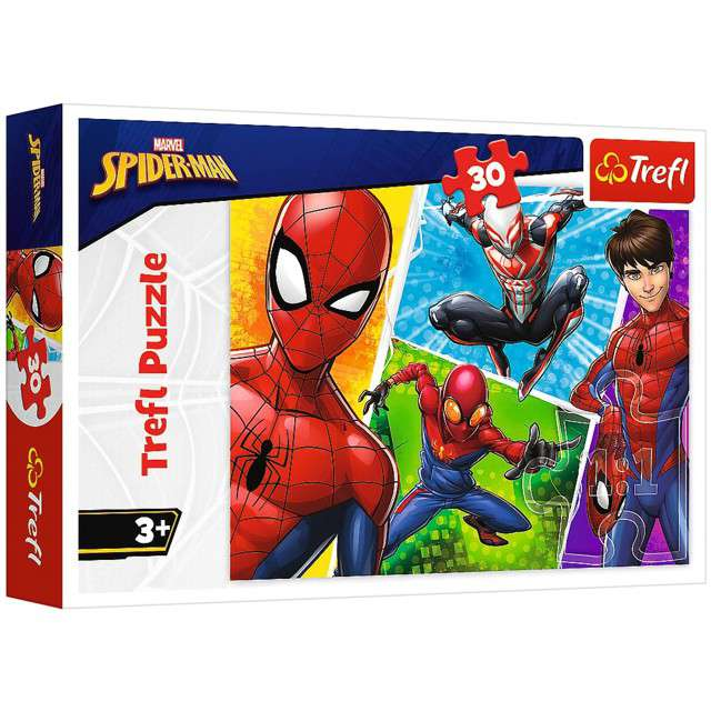 Puzzle Spider-Man Miguel Trefl 30 elementów