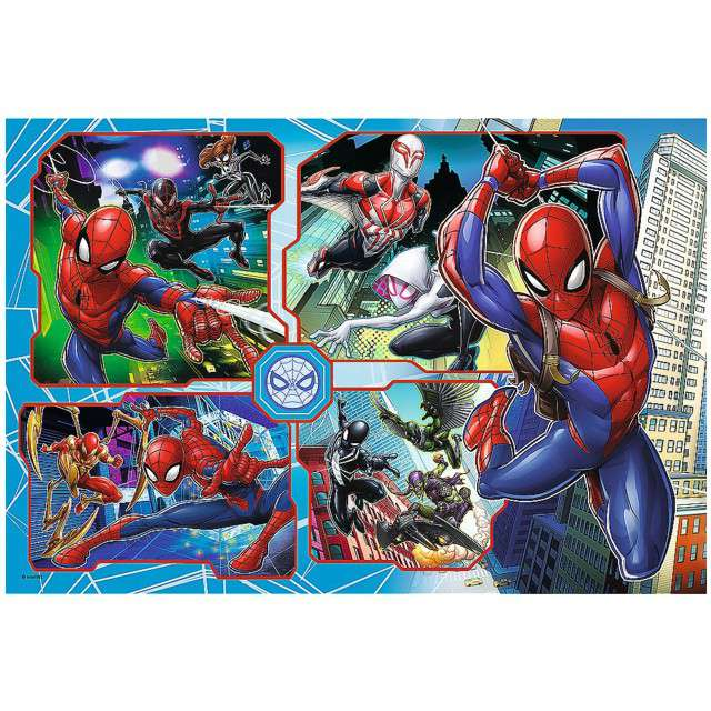 Puzzle Spider-Man w akcji Trefl 160 elementów