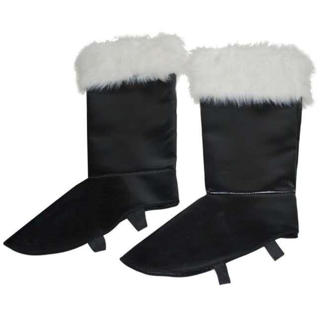 Nakładki na buty Święty Mikołaj z futerkiem Funny Fashion