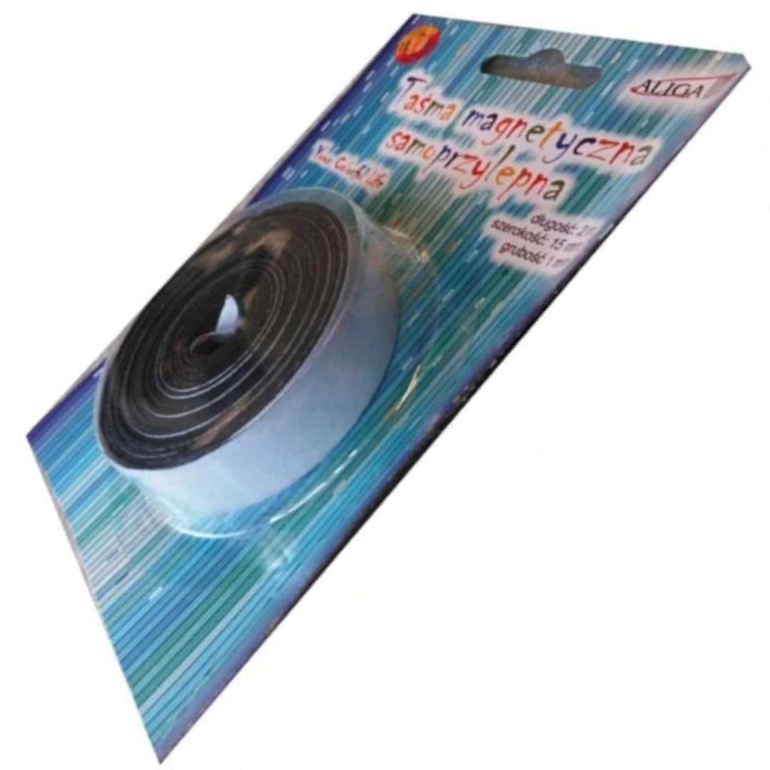 Taśma Magnetyczna-samoprzylepna15 mm Aliga 2 m
