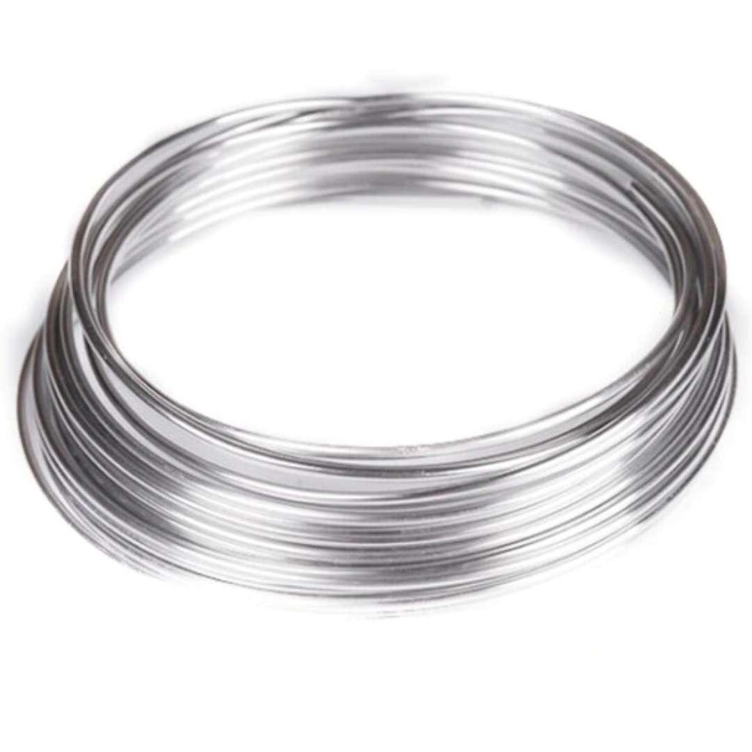 """Drucik aluminiowy """"Classic 1,25 mm"""", srebrny, Aliga, 5m"""