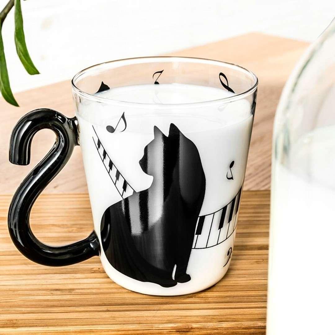 Szklanka Z kocim ogonem GadgetMaster 300 ml