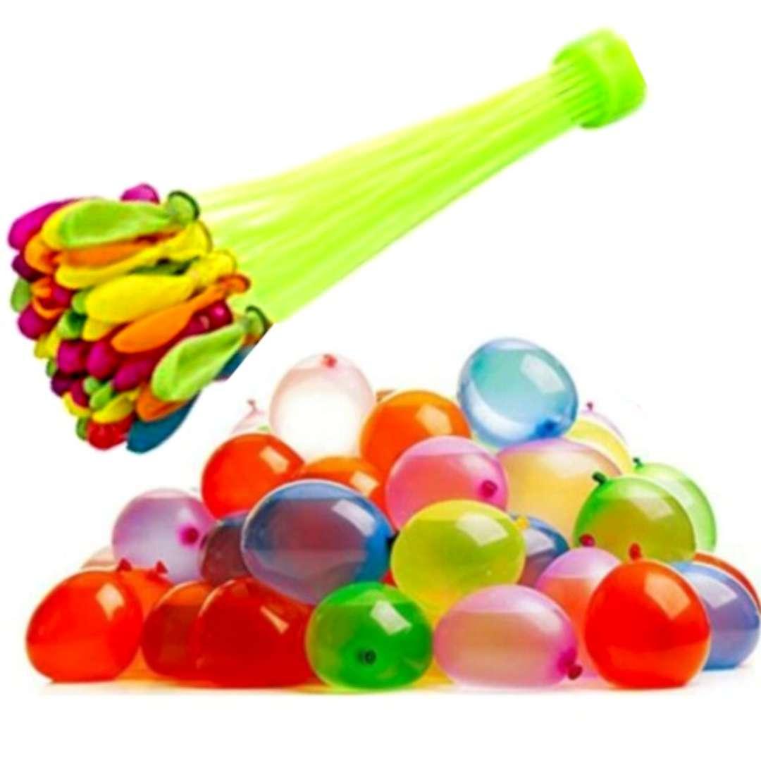 "Balony 4"" pastel mix ""Bomby Wodne"", PartyPal, 100 szt"